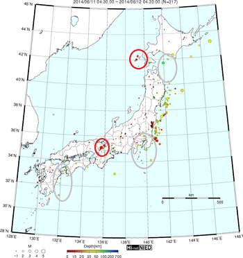 地震予知 0613