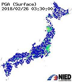 茨城、秋田地震