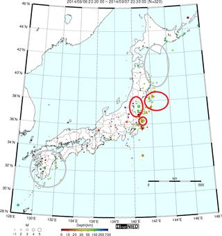 地震予知 日向灘 20140908