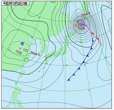 台風22号17103015