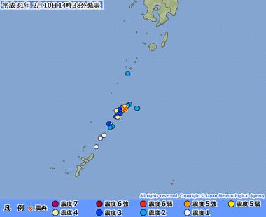 奄美大島近海20190210053842495-10143430