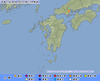 山口県東部 地震 06280114
