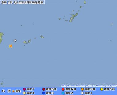 与那国島近海20200122143649495-22233255
