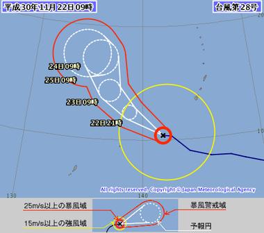 台風第28号 (マンニィ)1828-00