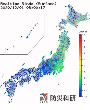 2020y12m01dサハリン西方沖 地震画像1