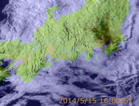 地震予知 地震雲 0516