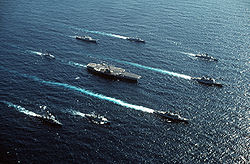 250px-USS_Forrestal_(CVA-59)_and_her_battlegroup_1989