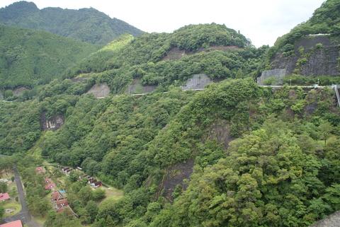 2010.7.4.池原ダム 滝 008