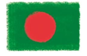 バングラ国旗(第22回)