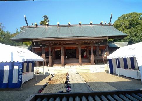 宮崎神宮本殿