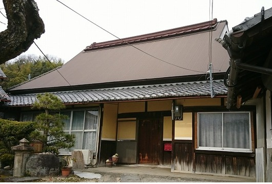 生駒市高山町 古民家 大和棟の家 傍示DSC_0856