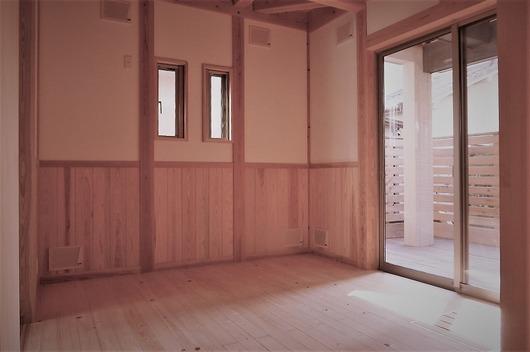 京都府木津川市新築一戸建て住宅 子供室 東面