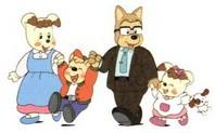 幸子さん家族