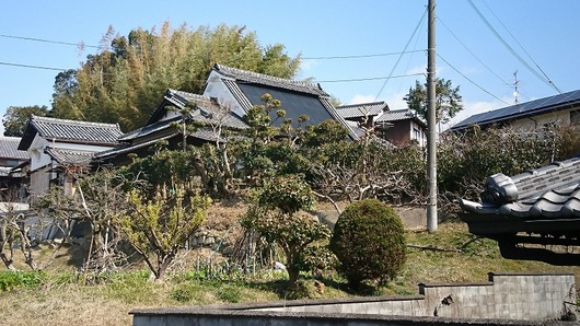 生駒市高山町 古民家 大和棟の家 傍示DSC_0903