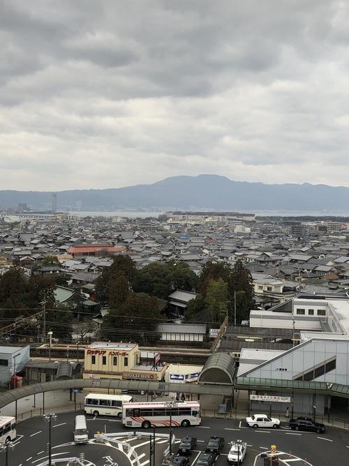 瀬田からの比叡