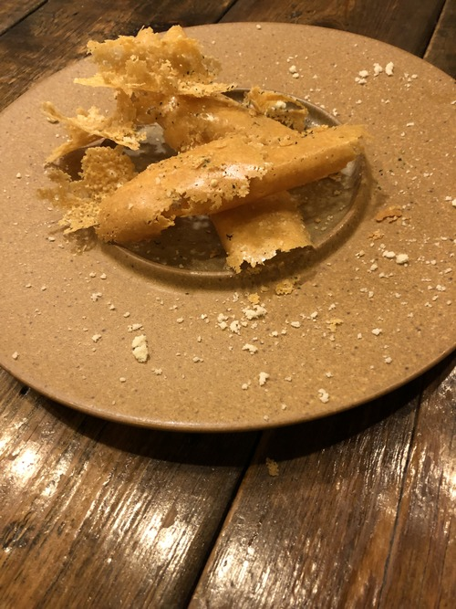 鉄板焼きloji⑤焼きチーズ