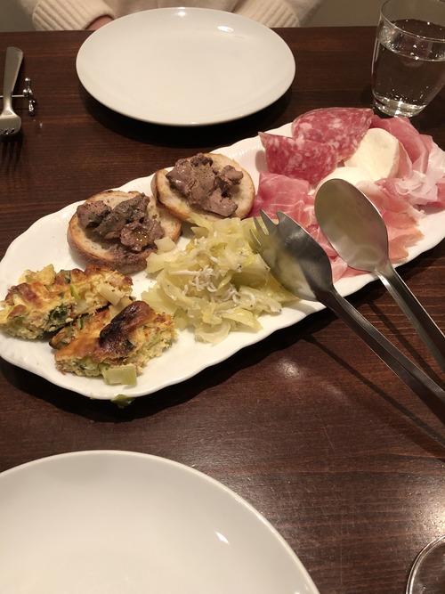 スーペルノヴァ 前菜
