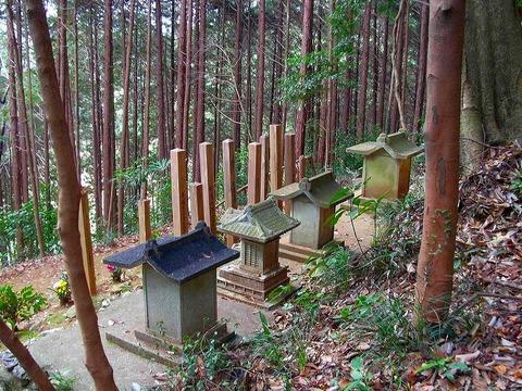 千鹿野家墓地