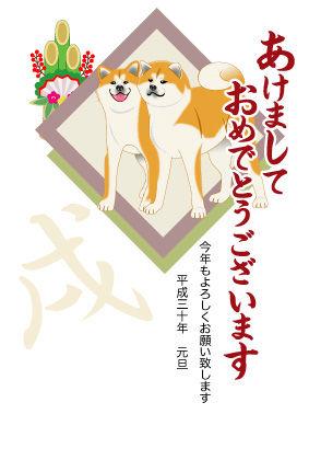 秋田犬ペア02