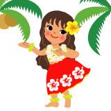 ハワイアンイラスト