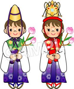 花祭り・稚児