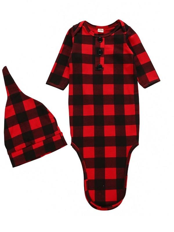kiskissing-wholesale-2-piece-baby-sleeping-bag-matching-hat