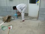 石巻市 止水板(防潮板)設置工事