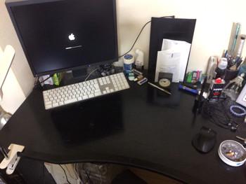 机の上の現状