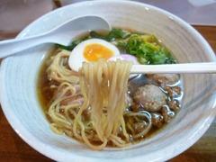 麺屋169_鴨と煮干の中華そば(麺)_201701