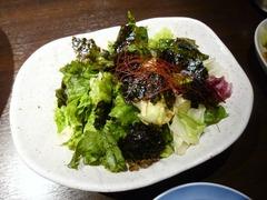 東京炊餃子(すすきの店)_チョレギサラダ_201708