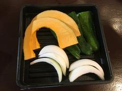 金獅子のホルモン(元町店)_焼き野菜_202107