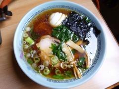 竹のこ食堂_醤油ラーメン_201607
