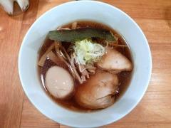 閃_醤油中華そば+煮たまご_2014