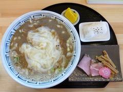 風来堂_旭川煮干し雲呑そば大煮干し_201707
