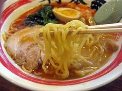 竹本商店(札幌石山店)_世界の海老そば(麺)_201205