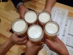 GYOZA BAR(都通り店)_乾杯1_201612