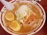狼スープ_味噌卵