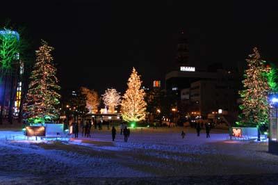 札幌イルミ