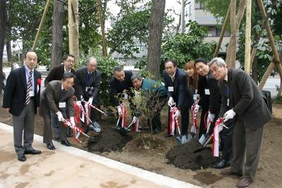 植樹式2009年3月28日