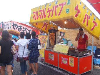 戸田市ふるさと祭りのテキヤさん