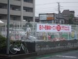 戸田公園駅前新しく建設中の駐輪場