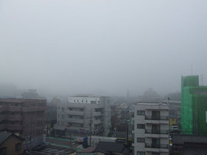 霧の戸田市