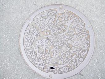奈良市のマンホール