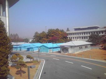 板門店(韓国と北朝鮮の国境)
