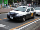 戸田市民間交番のパトロールカー