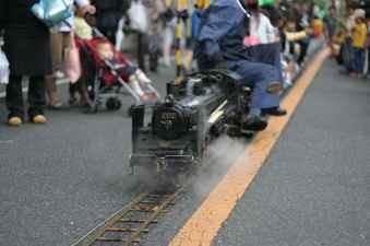 上戸田ゆめめつりでの機関車