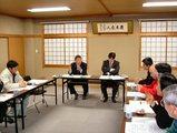 改良区での懇談会2