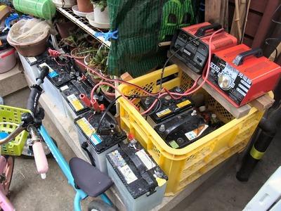 排水用バスポンプ駆動バッテリー