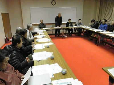 農業組合の会議