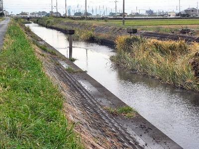土川西側橋脚撤去前2009年10月